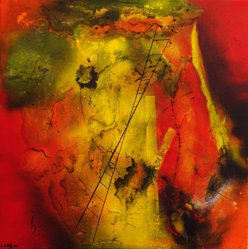 Susanne Köttgen, Werke der Liebe, Abstraktes, Gefühle: Liebe, Abstrakter Expressionismus, Expressionismus