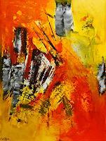 Susanne-Koettgen-Abstraktes-Karneval-Moderne-Expressionismus-Abstrakter-Expressionismus