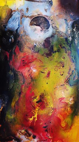 Susanne Köttgen, Staunen, Abstraktes, Fantasie, Abstrakter Expressionismus