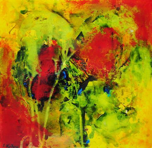 Susanne Köttgen, Erinnerung, Abstraktes, Gefühle: Freude, Abstrakter Expressionismus