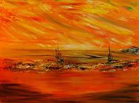 Susanne-Koettgen-Landschaft-See-Meer-Landschaft-Gegenwartskunst-Neo-Expressionismus