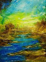 Susanne-Koettgen-Landschaft-Natur-Wasser-Moderne-Expressionismus-Abstrakter-Expressionismus