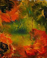 Susanne-Koettgen-Abstraktes-Pflanzen-Blumen-Moderne-Expressionismus-Abstrakter-Expressionismus