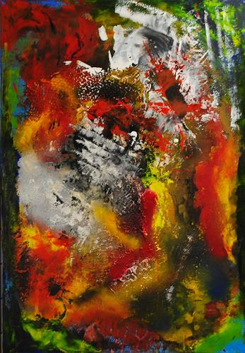 Susanne Köttgen, Übertreibung, Abstraktes, Bewegung, Abstrakter Expressionismus