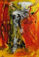 Susanne-Koettgen-Menschen-Gruppe-Akt-Erotik-Akt-Frau-Moderne-Expressionismus-Abstrakter-Expressionismus
