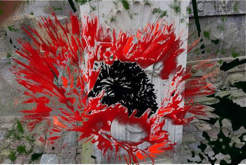Susanne Köttgen, Digital Art Work, Abstraktes, Abstrakter Expressionismus