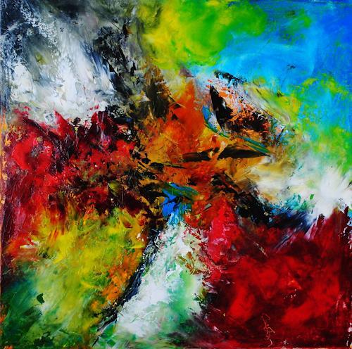 Susanne Köttgen, Phantasie, Abstraktes, Fantasie, Abstrakter Expressionismus