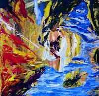 Susanne-Koettgen-Menschen-Frau-Landschaft-Moderne-Expressionismus-Abstrakter-Expressionismus