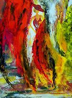 Susanne-Koettgen-Landschaft-Menschen-Frau-Moderne-Expressionismus-Abstrakter-Expressionismus
