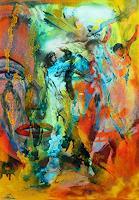 Susanne-Koettgen-Menschen-Frau-Menschen-Gesichter-Moderne-Expressionismus-Abstrakter-Expressionismus