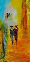 Susanne-Koettgen-Menschen-Paare-Natur-Moderne-Expressionismus-Abstrakter-Expressionismus