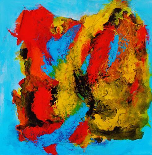 Susanne Köttgen, Gelassenheit II, Abstraktes, Fantasie, Abstrakter Expressionismus