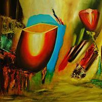 Susanne-Koettgen-Natur-Pflanzen-Blumen-Moderne-Expressionismus-Abstrakter-Expressionismus
