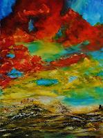 Susanne-Koettgen-Gefuehle-Geborgenheit-Landschaft-Fruehling-Moderne-Expressionismus-Abstrakter-Expressionismus