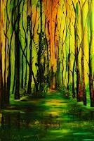 Susanne-Koettgen-Landschaft-Herbst-Pflanzen-Baeume-Moderne-Expressionismus-Abstrakter-Expressionismus