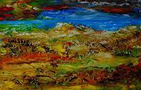 Susanne-Koettgen-Landschaft-Landschaft-See-Meer-Moderne-Expressionismus-Abstrakter-Expressionismus