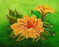 Susanne-Koettgen-Pflanzen-Blumen-Natur-Moderne-expressiver-Realismus