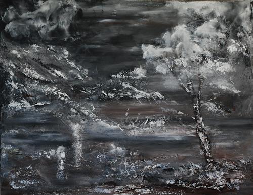 Susanne Köttgen, Die Schöpfung, Landschaft, Natur, Abstrakter Expressionismus