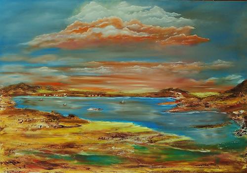 Susanne Köttgen, Entdeckung, Landschaft: Berge, Landschaft: See/Meer, Moderne, Expressionismus