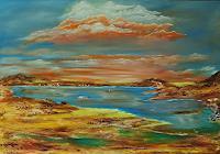Susanne-Koettgen-Landschaft-Berge-Landschaft-See-Meer-Moderne-Moderne