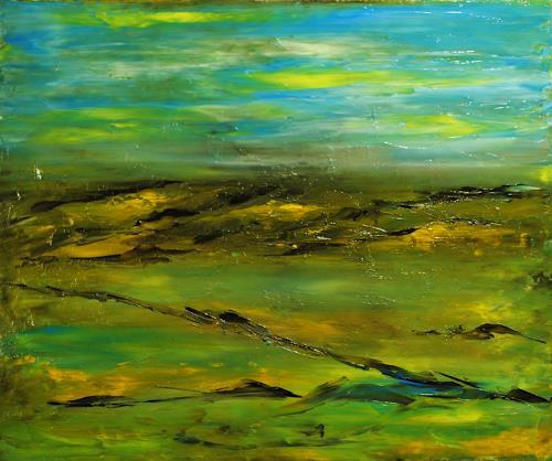 Susanne Köttgen, Natur / Landscape, Landschaft, Natur, Abstrakter Expressionismus, Expressionismus