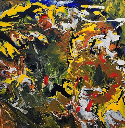 Susanne Köttgen, Schöpfung - Serie, Abstraktes, Abstrakter Expressionismus