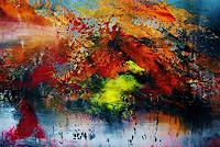 Susanne-Koettgen-Fantasie-Landschaft-Moderne-Expressionismus-Abstrakter-Expressionismus