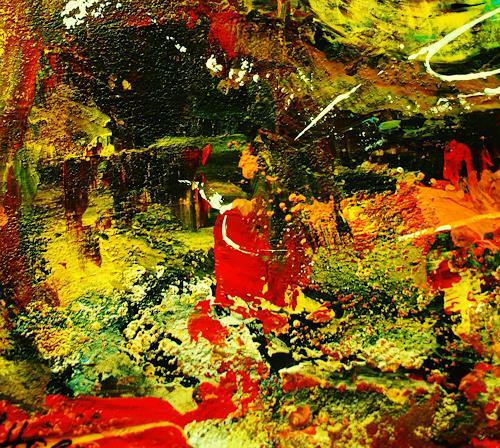 Susanne Köttgen, Nur für kurze Zeit / Serie, Fantasie, Gefühle, Abstrakter Expressionismus, Expressionismus