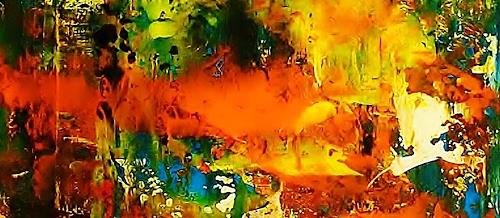 Susanne Köttgen, Nur für kurze Zeit / Serie, Fantasie, Abstrakter Expressionismus, Expressionismus