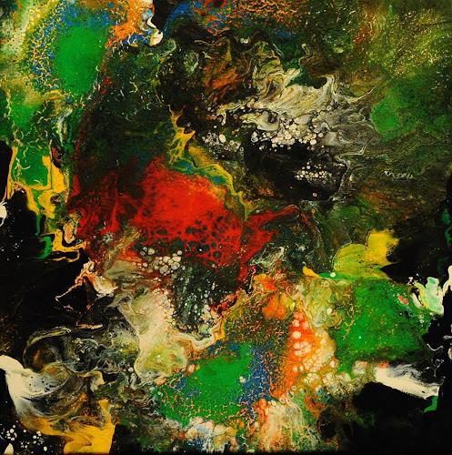 Susanne Köttgen, Die Liebe zur Farbe / Serie, Abstraktes, Fantasie, Abstrakter Expressionismus