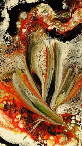 Susanne Köttgen, Die Liebe zur Farbe / Serie, Abstraktes, Pflanzen: Blumen, Abstrakter Expressionismus, Expressionismus