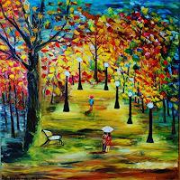 Susanne-Koettgen-Landschaft-Herbst-Gefuehle-Freude-Moderne-Expressionismus-Abstrakter-Expressionismus