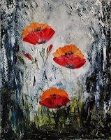 Susanne-Koettgen-Pflanzen-Blumen-Landschaft-Sommer-Moderne-Expressionismus-Abstrakter-Expressionismus