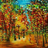Susanne-Koettgen-Landschaft-Herbst-Natur-Wald-Moderne-Expressionismus-Abstrakter-Expressionismus