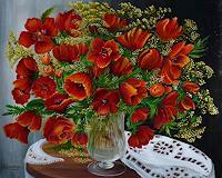 Roland-Raabe-Stilleben-Pflanzen-Blumen