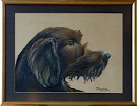 R. Raabe, Hundeporträt