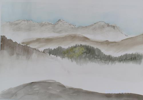 duohtreb, Appenzellerland, Landschaft: Berge, Gegenwartskunst