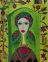 Mimi-Revencu-Dekoratives-Menschen-Frau-Gegenwartskunst-Gegenwartskunst