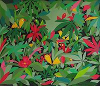 Mimi-Revencu-Landschaft-Sommer-Natur-Gegenwartskunst-Gegenwartskunst