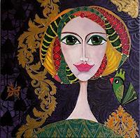 Mimi-Revencu-Menschen-Frau-Fantasie-Moderne-Art-Deco