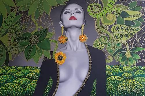 Mimi Revencu, Revelation Mother Earth, Gefühle, Natur: Erde, Pop-Art, Expressionismus