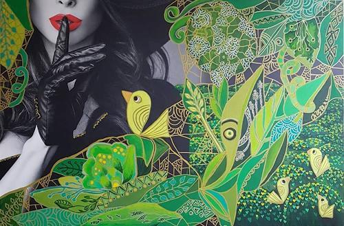 Mimi Revencu, Behind Appearances, Gefühle, Natur: Erde, Pop-Art, Expressionismus