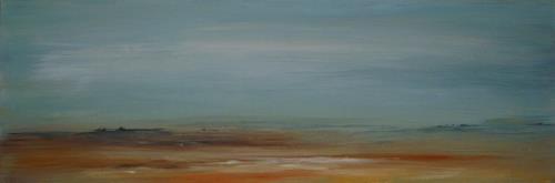 Isabel Zampino, Landschaft I, Landschaft: Ebene, Landschaft: Sommer, Abstrakte Kunst
