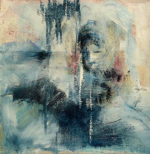Isabel Zampino, Lauras Traum, Fantasie, Menschen: Gesichter, Gegenwartskunst, Abstrakter Expressionismus