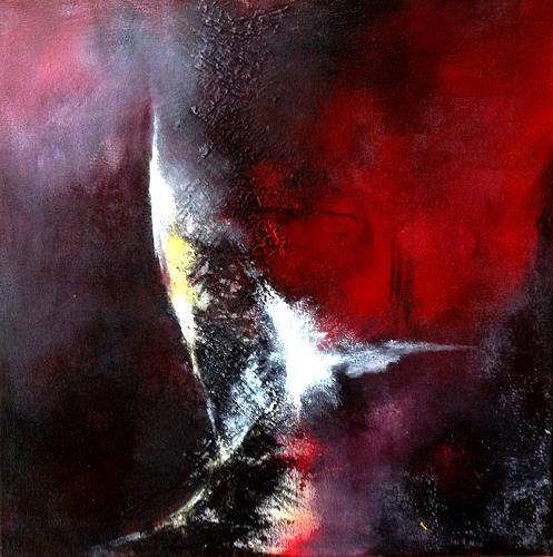 Isabel Zampino, Richtungsänderung, Abstraktes, Diverse Landschaften, Gegenwartskunst