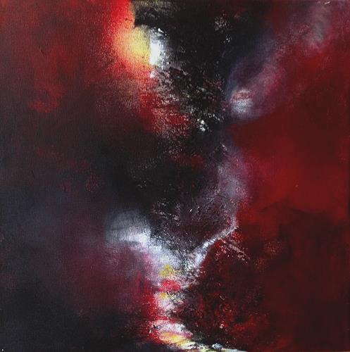 Isabel Zampino, Abzweigung, Abstraktes, Diverse Landschaften, Gegenwartskunst