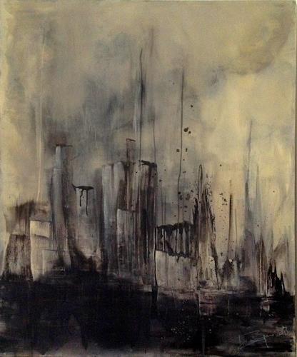 Isabel Zampino, es kommt von oben, Diverse Bauten, Gefühle: Angst, Gegenwartskunst