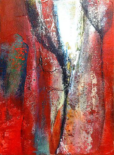 Isabel Zampino, Fragil I, Diverses, Abstraktes, Abstrakter Expressionismus