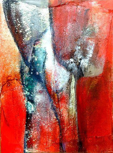 Isabel Zampino, Fragil 2, Diverses, Abstraktes, Abstrakter Expressionismus