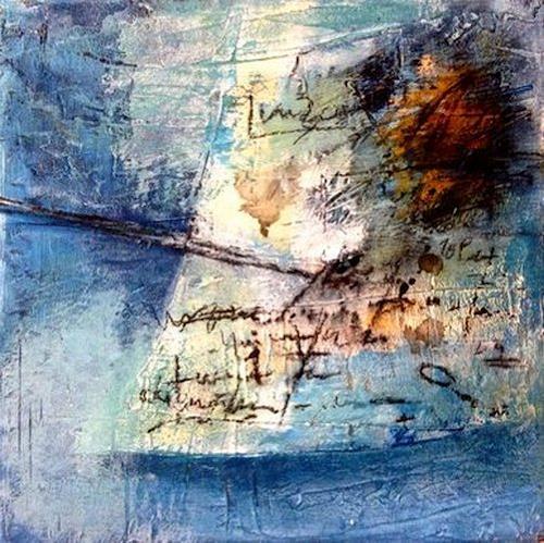 Isabel Zampino, Notizen III, Abstraktes, Abstraktes, Gegenwartskunst, Abstrakter Expressionismus